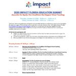 Impact Florida Virtual Education Summit - Participant Agenda